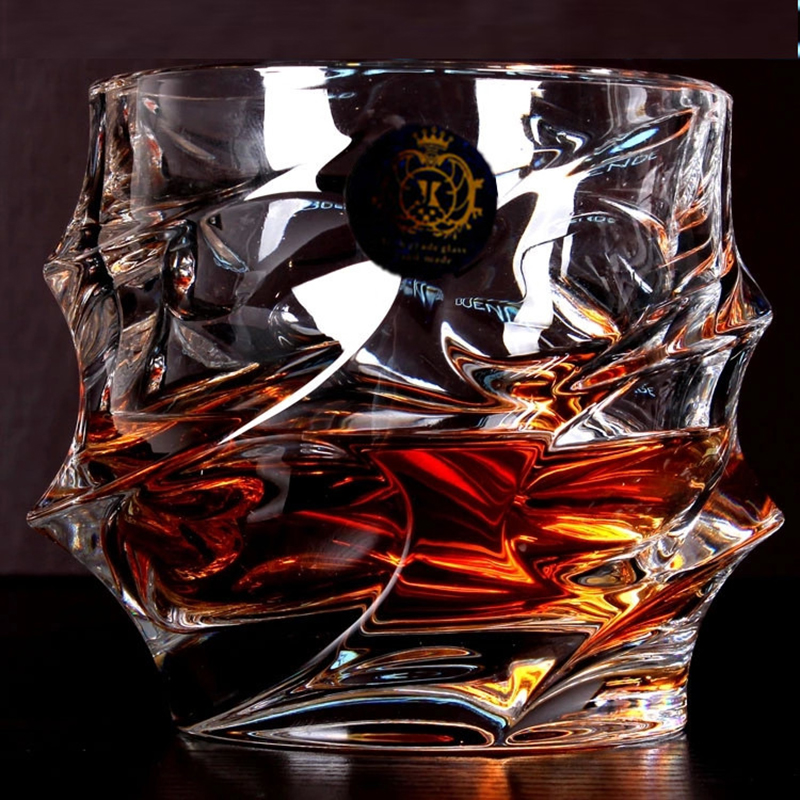 Hot Sale Big Whiskey Wine Glass Lead-free Crystal Cup Tinggi Kapasiti Beer Glass Wine Cup Cup Bar Hotel Drinkware Brand Vaso Copos