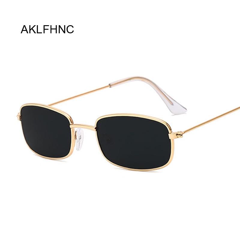 Rectangle Sunglasses Men Women Brand Designer Sun Glasses Male Female Fashion Summer Gafas Feminino Oculos De Sol