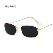 Rectangle Sunglasses Men Women Brand Designer Sun Glasses Ma
