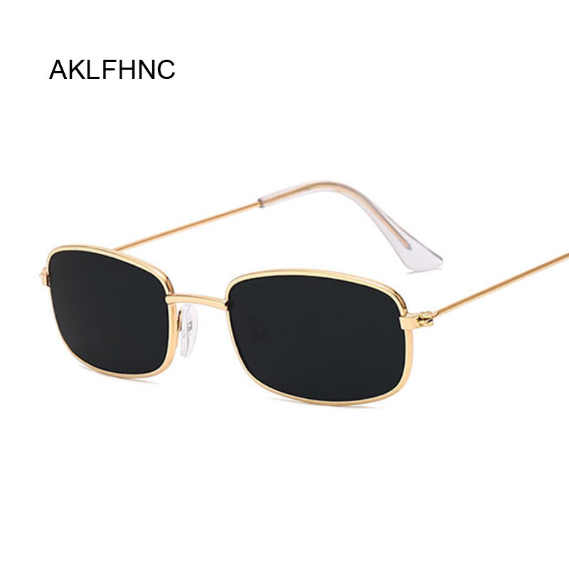 Rectangle Sunglasses Men Women Brand Designer Sun Glasses Male Female Fashion Summer Gafas Feminino Oculos De Sol