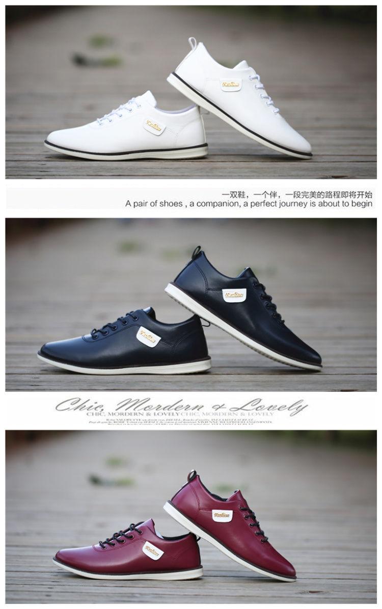 HTB1HJaXX4D1gK0jSZFsq6zldVXak Men's PU Leather Business Casual Shoes for Man Outdoor Breathable Sneakers Male Fashion Loafers Walking Footwear Tenis Feminino