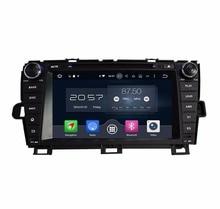 "4 ГБ Оперативная память Octa Core 8 ""Android 6,0 Car Audio DVD плеер для Toyota Prius 2009-2013 с радио gps 4 г WI-FI Bluetooth USB DVR"