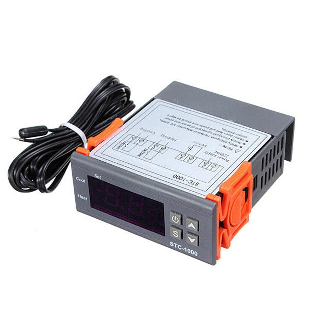 Digital STC-1000 All-Purpose Computer Temperature Controller Thermostat With Sensor For Aquarium