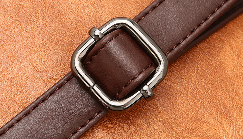 pure leather bag belt