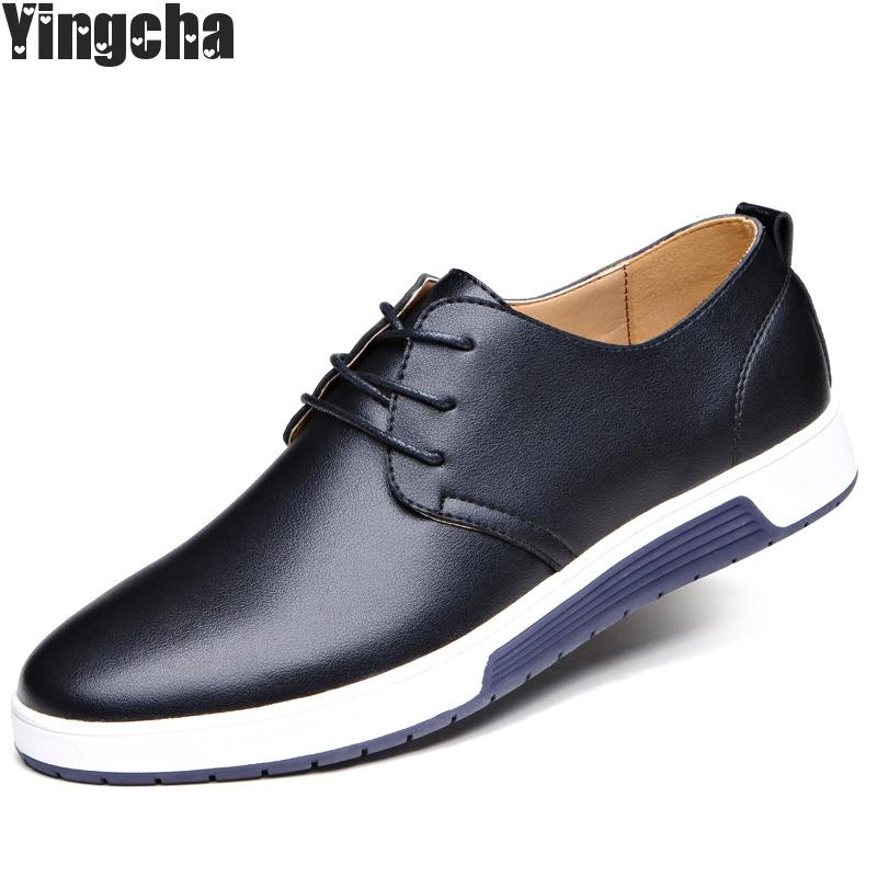 New 2018 Luxury Brand Men Shoes England Trend Casual Leisure Shoes Breathable For Male Footear Loafers Men's Flats men casual shoes in the autumn of 2017 new england men s trend of men s shoes casual shoes leather shoes breathable four male