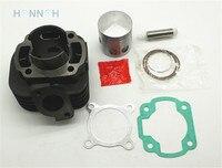 NEW Cylinder 47 mm Barrel Piston Ring Gasket Set For YAMAHA JOG 80 JOG80 NEW Cylinder 70cc Rebuild Cylinder Kit