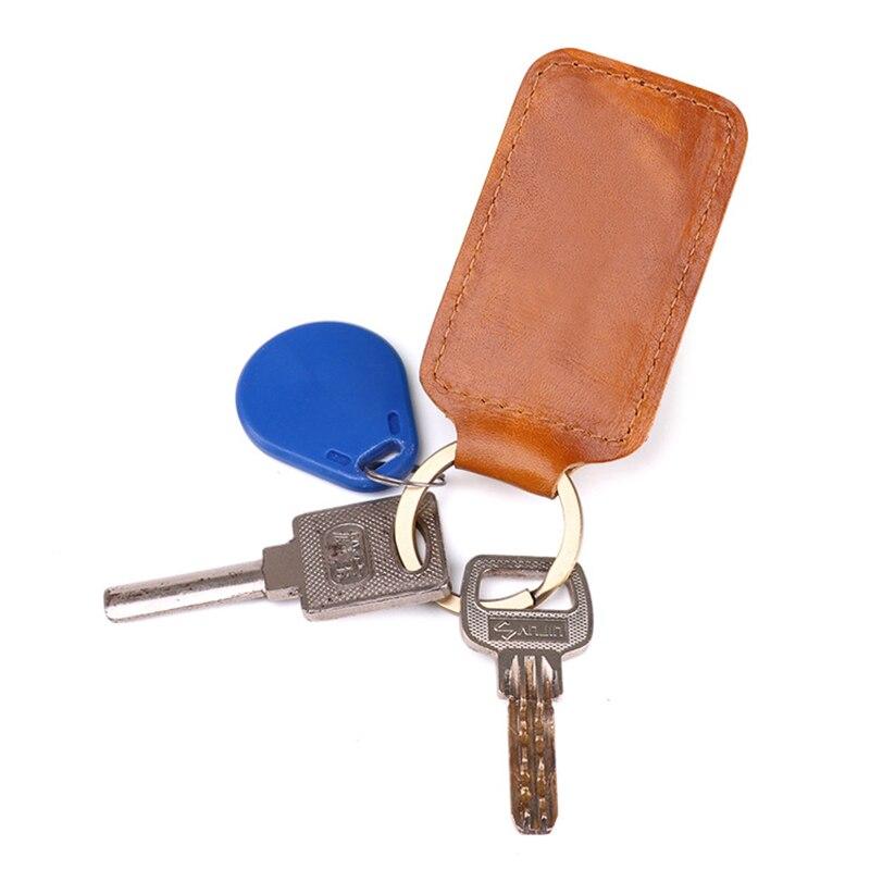 High Quality Men Genuine Leather Car Key Case Holder Housekeeper Weave Real Cowhide Key Accessories Key Holder Keychain Keyring Key Wallets