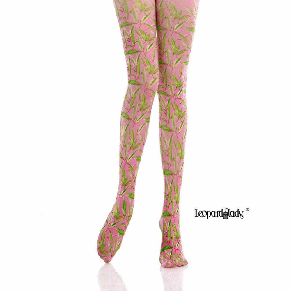 Princess sweet lolita pantyhose Pastoral green tights 140D Tights Stockings fashion personality stovepipe tide pantyhose LKW143