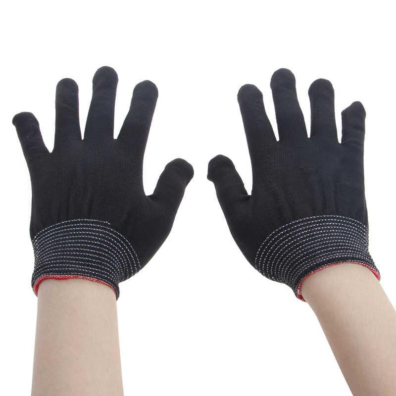 1 زوج مكافحة ساكنة عدم الانزلاق قفاز المرأة العاملة قفازات اليد واقية البستنة