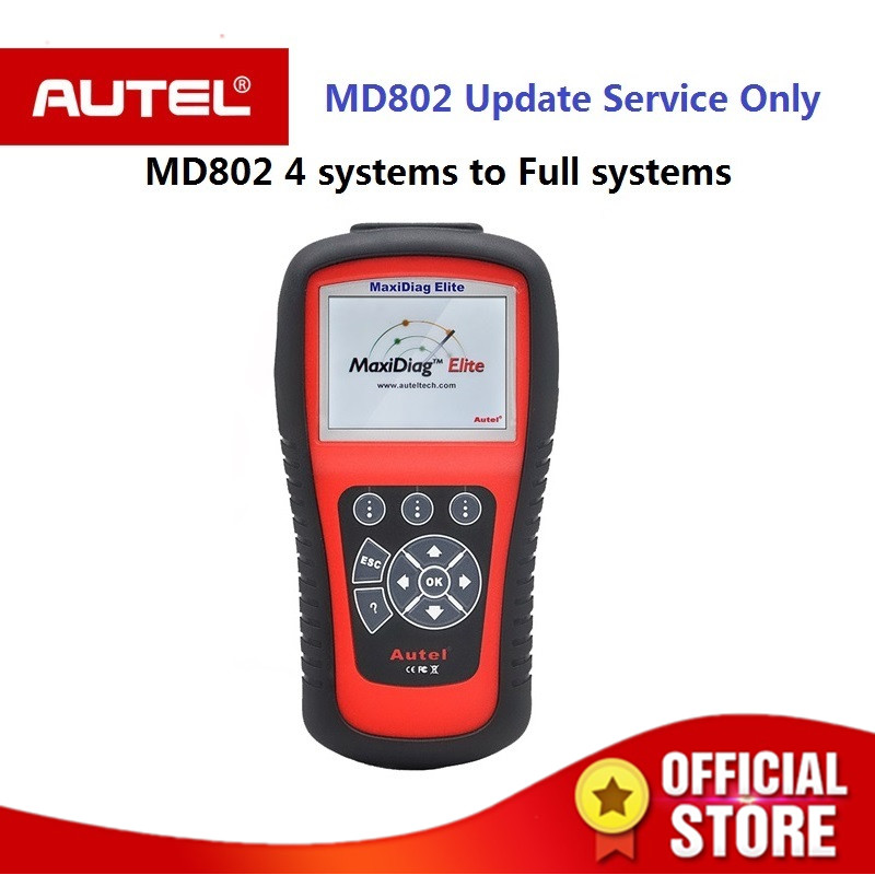 цена на Autel Auto Link diagnostic tool MaxiDiag MD802 scanner Update Service From MD802 4 Systems To MD802 All Systems