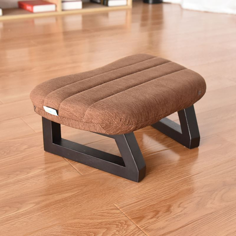 Meditation Bench & Cushion Set With Removable Fabric Cover