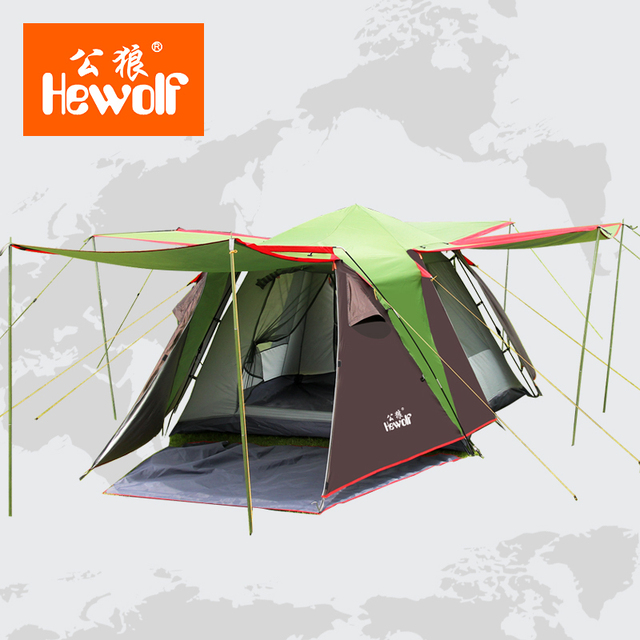 Bedroom large male wolf tent 3-4 person multiplayer automatic tent outdoor tent Tent Bedroom & Bedroom large male wolf tent 3 4 person multiplayer automatic tent ...