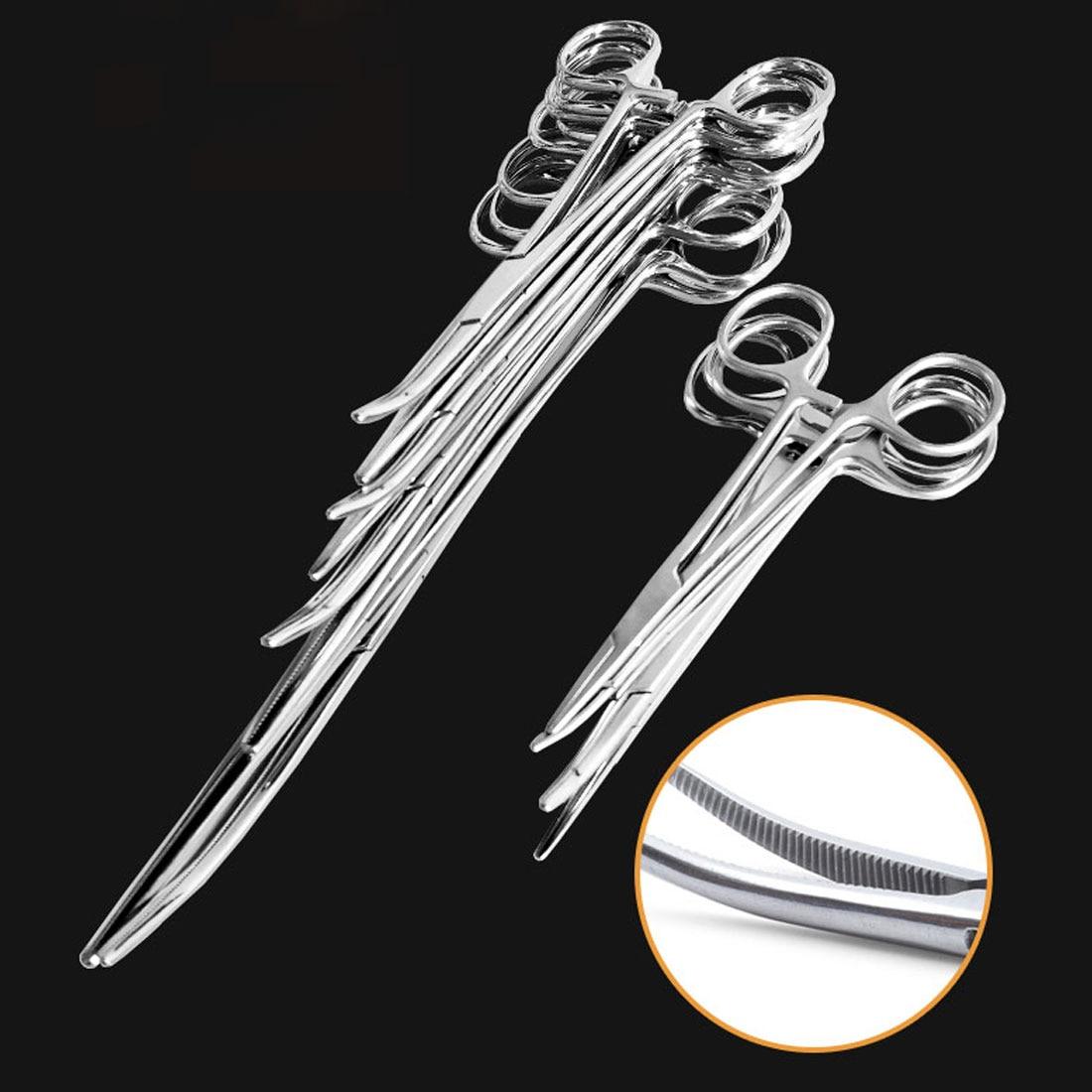 Courbe//Droite en acier inoxydable Pince mer Carpe Pike Pince de p/êche 12,7/cm 15,2/cm 17,8/cm 20,3/cm 25,4/cm droit et incurv/é