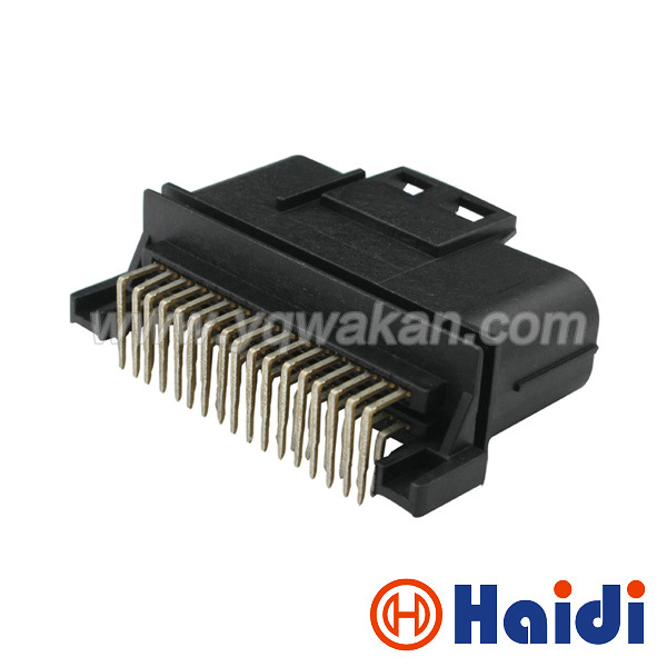 Free shipping 1set 34pin PCB Standard Pinheader ECU plug automotive wiring harness JAE connector MX23A34NF1 free shipping 1set 34pin pcb standard pinheader ecu plug automotive wiring harness standards at gsmx.co