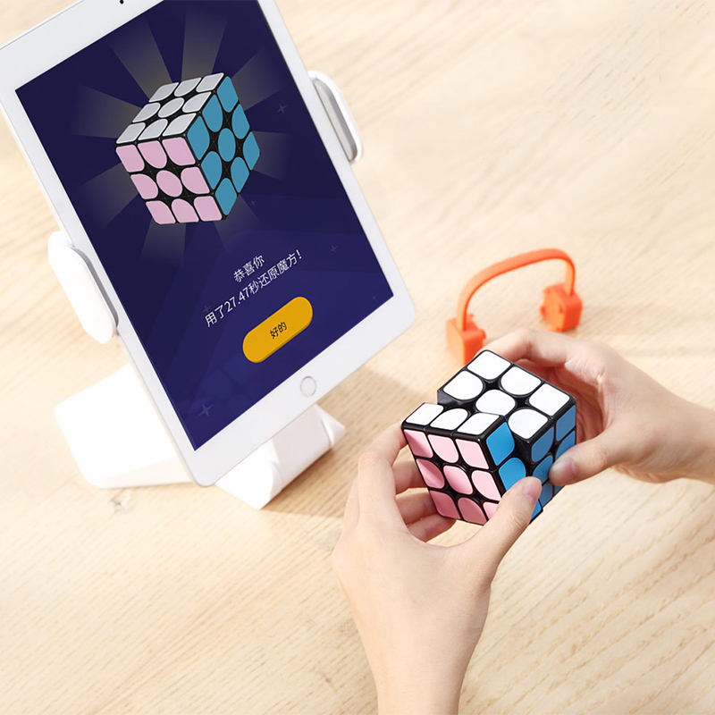 Image 4 - Youpin Giiker super smart cube App remote comntrol Professional Magic Cube Puzzles Colorful Educational Toys For man,womenSmart Remote Control   -