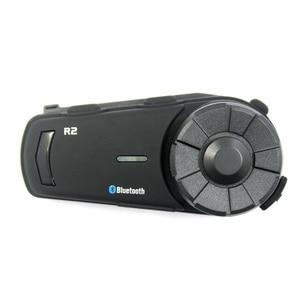 Image 4 - 2PCS 1000m Airide R2  Motorcycle Bluetooth Helmet Group Intercom Headset FM Radio MP3 Voice  Command Handsfree BT Interphone