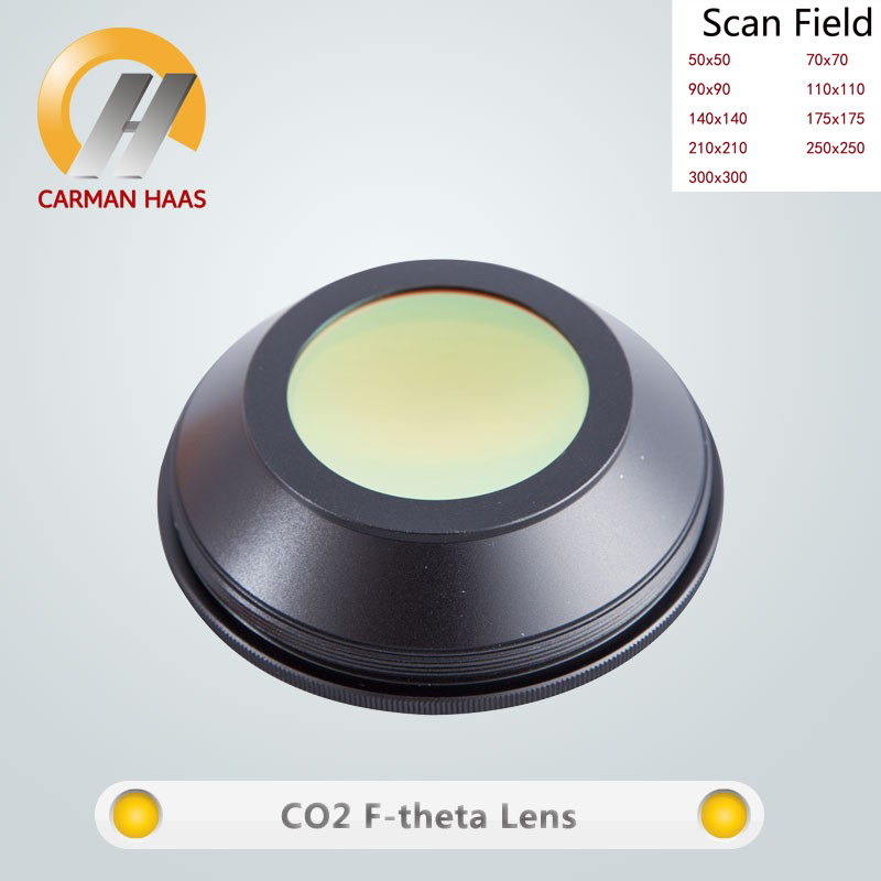 Carmanhaas CO2 F theta lentille de balayage Laser 10.6um champ de balayage 300*300mm pour Machine de marquage Laser co2 - 2