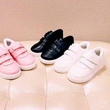 ec482b58fd Nuevos niños niñas niños blanco rosa negro Slip-On zapatillas para niños  niñas niños escuela deportes zapatos 1 2 3 4 5 6 7 8 9 .