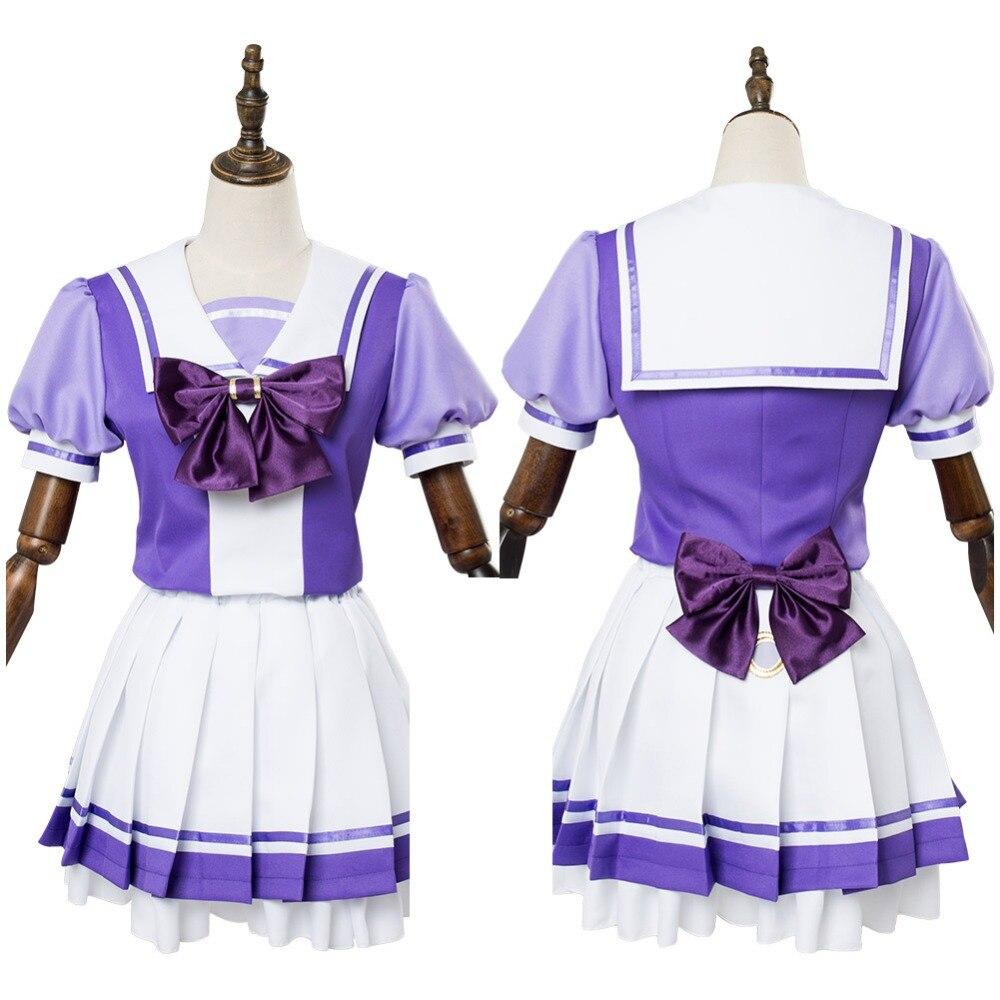 Uma Musume Pretty Derby Cosplay Costume School Uniform Dress