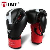 TMT Training Muay Thai PU Leather Boxing Gloves Boxing Mitts Sanda Karate Sandbag Taekwondo Fighting Hand