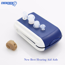 Micro Ear Hearing Aid Mini CIC Hearing Aids for The Elderly Deaf Hearing Lossing Sound Amplifier Invisible Hearing Device popular in usa feie medical devices invisible mini cic hearing aids in the ear canal s 12a
