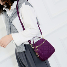 купить 2019 Korean Fashion Mini Women Handbag With Earphone hole Small Ladies Phone bags Female Shoulder Bag Mini Lady Crossbody Bag по цене 846.05 рублей