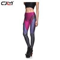 CJLM Women Leggings 2017 Fashion Girl 3d Widowmaker Game Robot Printed Fitness Workout Leggins Sexy Mid