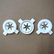 3 шт./партия, колпачки для моделирования машины для мороженого, запасные части в форме звезды, 3 шт. в одном