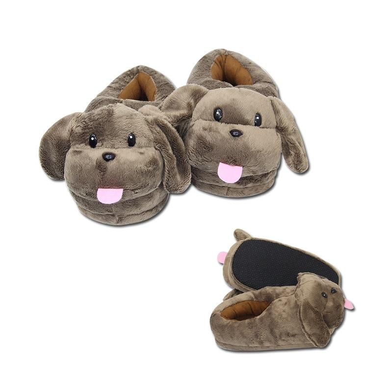 YURI!!!on ICE Victor Nikiforov's Pet Dog Makkachin Mascot Cartoon Cotton Shoes Unisex Home Shoes Halloween Cosplay Costumes
