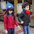 Moda da Menina do Menino para baixo Casacos casacos de inverno quente do bebê da Menina Casacos 90% de pato Para Baixo Crianças jaquetas Crianças Outerwears Insidewears