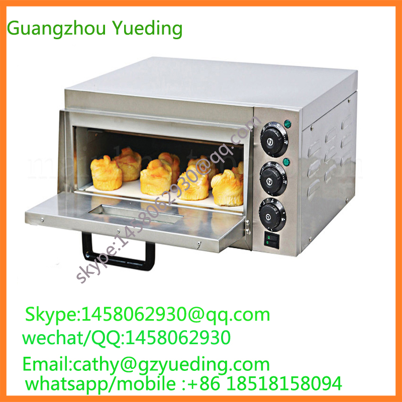 Commercial one layer Electric Pizza Oven Bread Baking Oven cake oven 3000w stainless steel commercial electric pizza oven with timer 2 layer making bread pizza cake baking oven