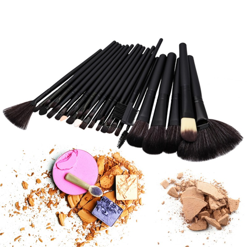 professional vander pink stylish 32pcs set cosmetics eyebrow shadow powder makeup brush set tools gift kit 24/32pcs Makeup Brushes Set Professional Soft Cosmetics Eyebrow Shadow Powder Pinceaux Brush Set