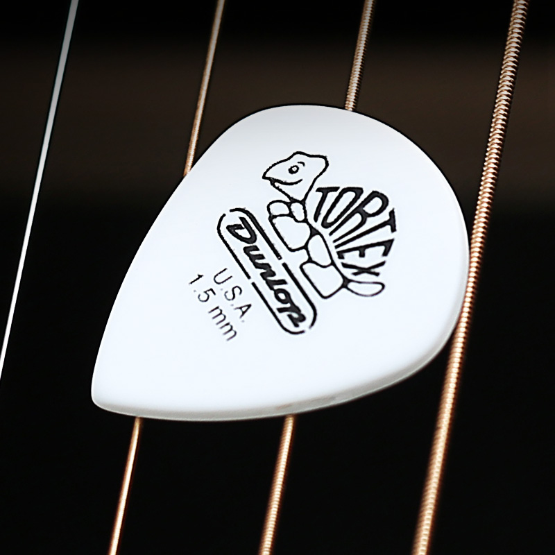 1 PC Dunlop Tortex Guitar Picks White Pick Plectrum Mediator Bass Mediator Acoustic Electric Accessories Classic Guitar Picks in Guitar Parts Accessories from Sports Entertainment