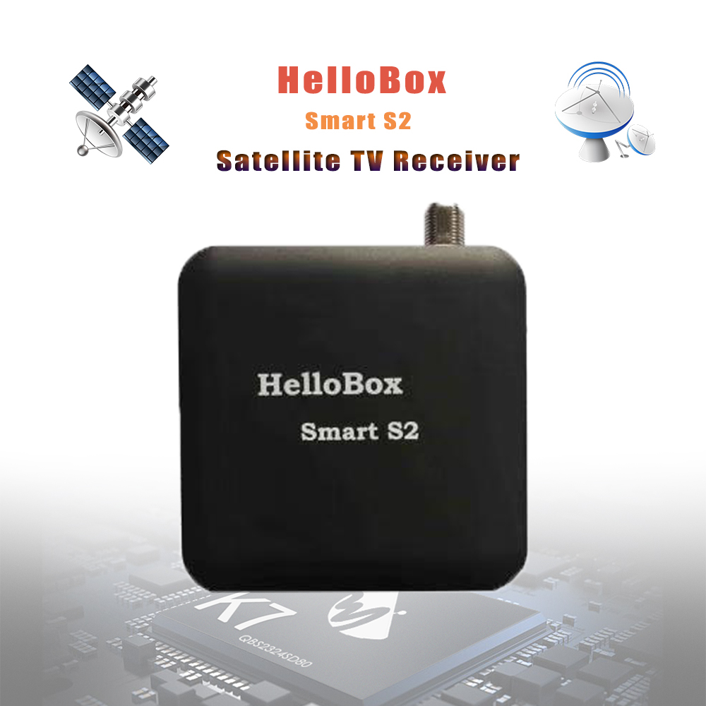 Hellobox Smart S2 Portable Satellite Finder Satellite Receiver TV Play On Mobile Phone Tablet TV Receiver