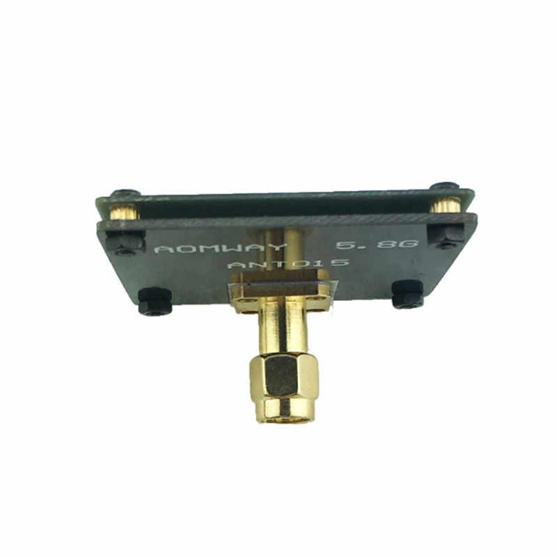 الأصلي AOMWAY ANT015 5.8 GHz 8dBi 90 درجة SMA الذكور RX FPV شقة هوائي ل FPV أجهزة الاستقبال عن بعد لعبة هليكوبتر