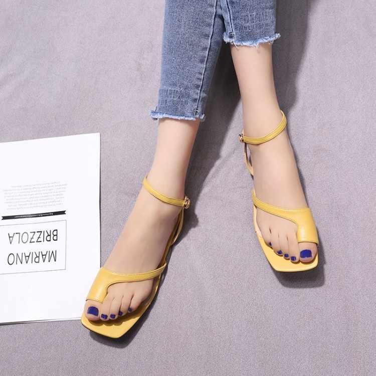 Big Size 9 10 11 12 summer flat sandals