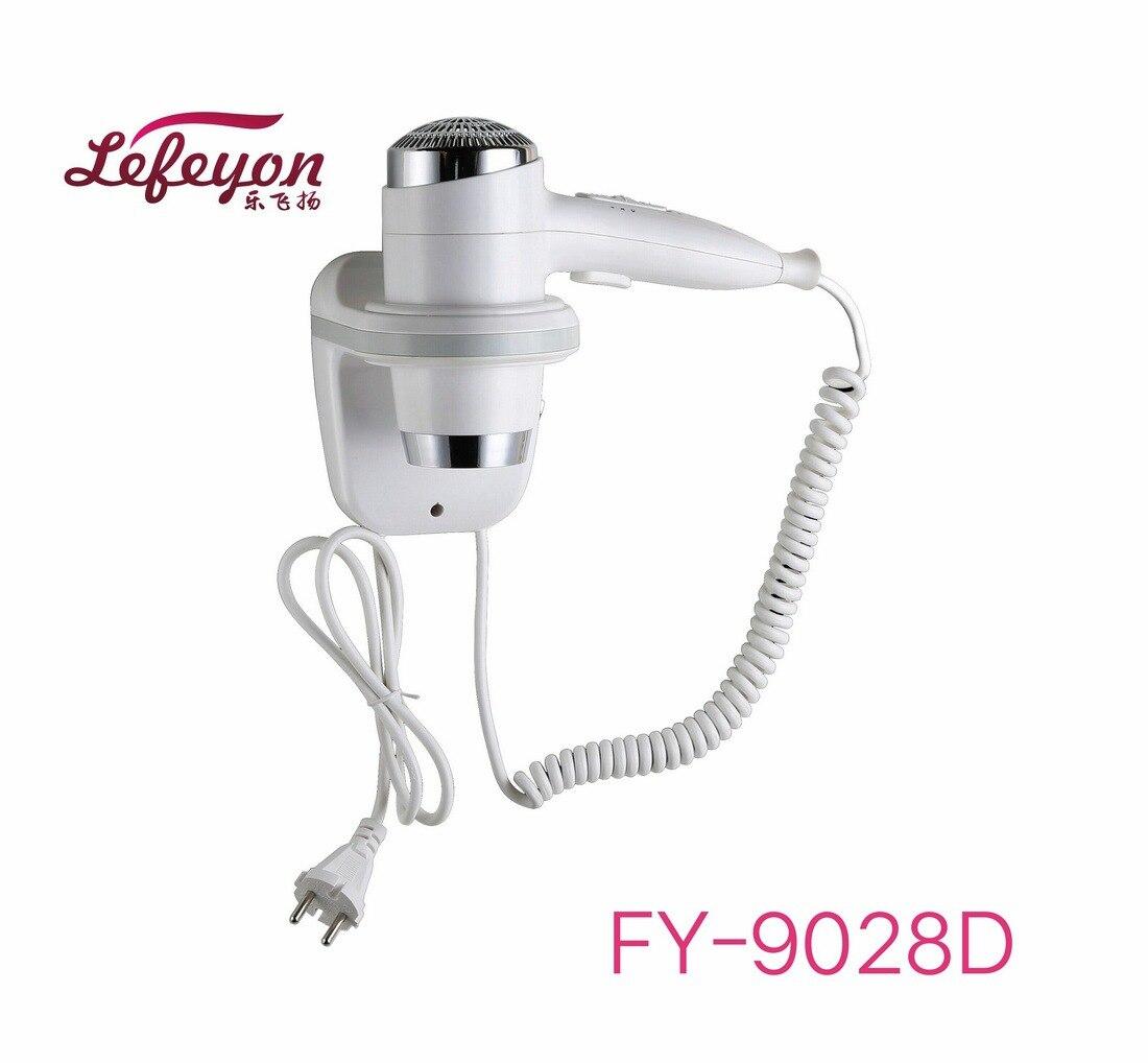 ФОТО Hotel bathroom home bathroom hair dryer dry skin hanging wall hanging hair dryer 110v/220v FY-9028D