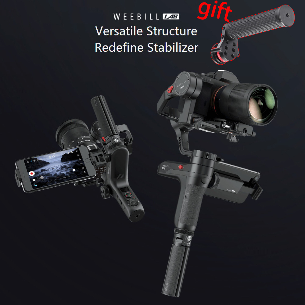 ZHIYUN Weebill LAB 3 Axis Handheld Gimbal Mirrorless Camera Stabilizer Handheld Gimbal for Sony A7R3 A7S2