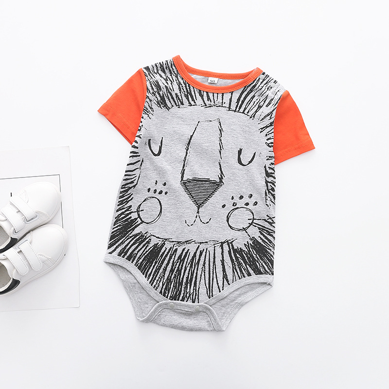 Baby Bodysuits Cotton Baby Boy Clothes Infant Short Sleeve Jumpsuit Body For Babies Newborns Baby Clothing DS9