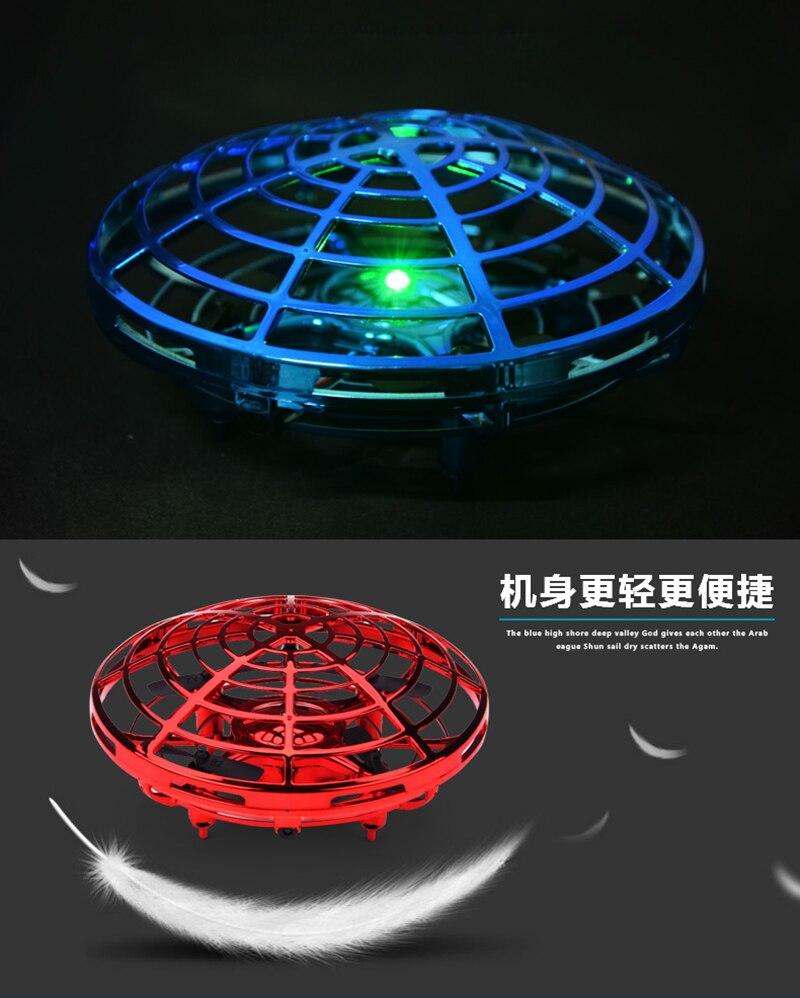 Mini Drone UFO helicóptero de juguete volador 5