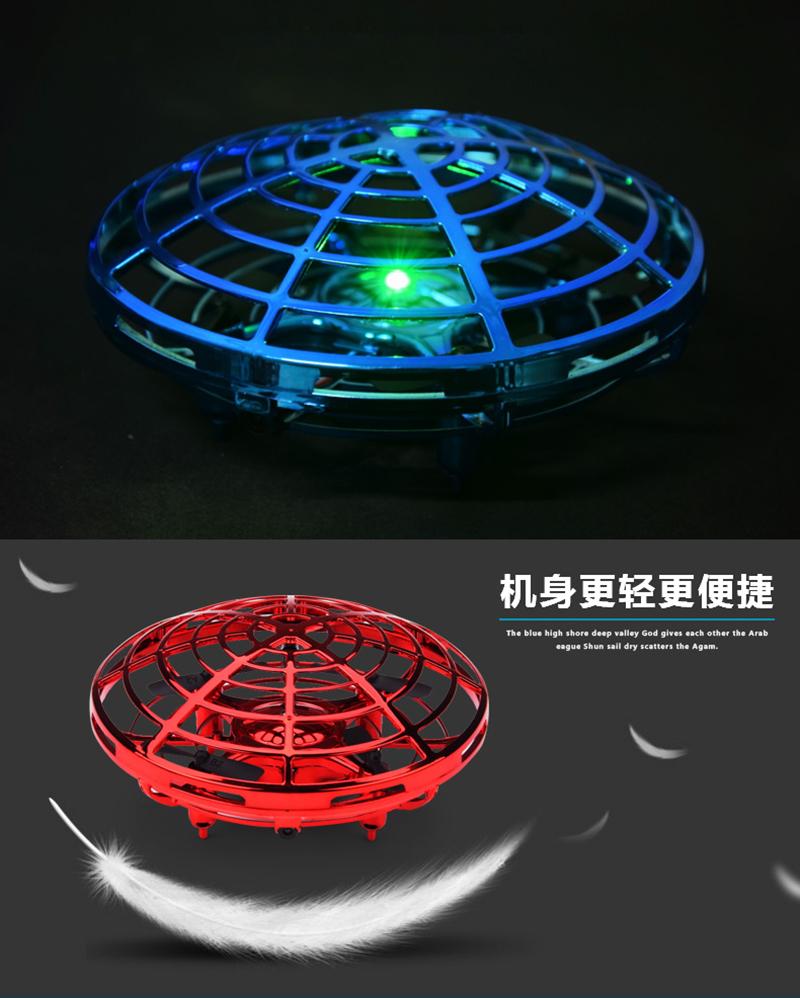 Mini Drone UFO helicóptero de juguete 4