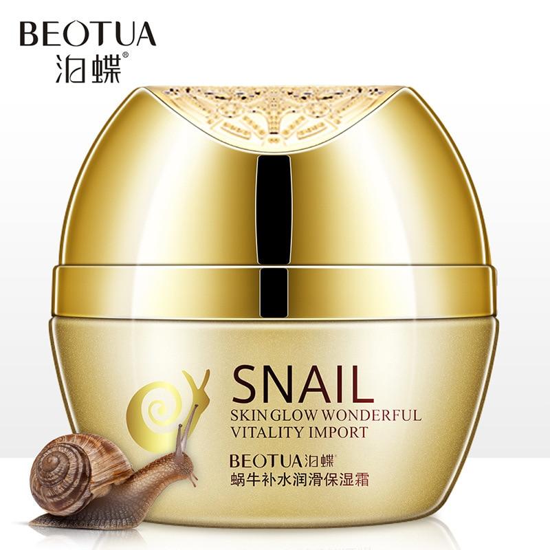 Snail Skin Face Cream Whitening Moisturizing Anti-aging Wrinkle Remove Dark Circles Snail Cream Skin Care