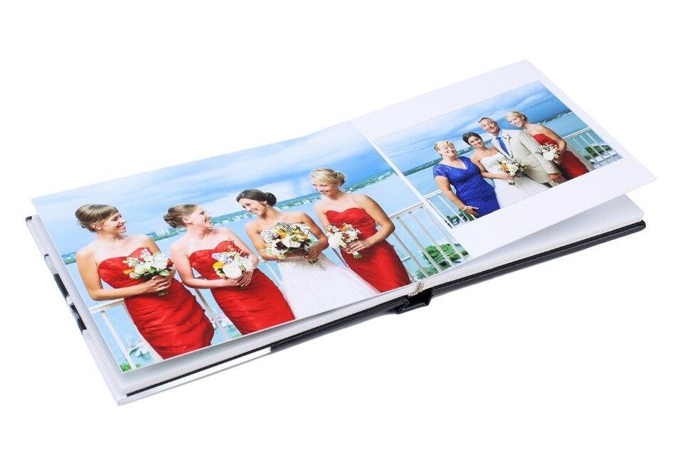 Acrylic Cover Flush Mount Album Foto Pernikahan Untuk Fotografer Profesional Photo Albums Aliexpress
