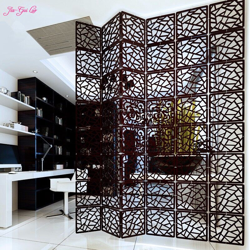 jiagui luo entranceway hanging wooden carved cutout carving room divider partition wall biombo room