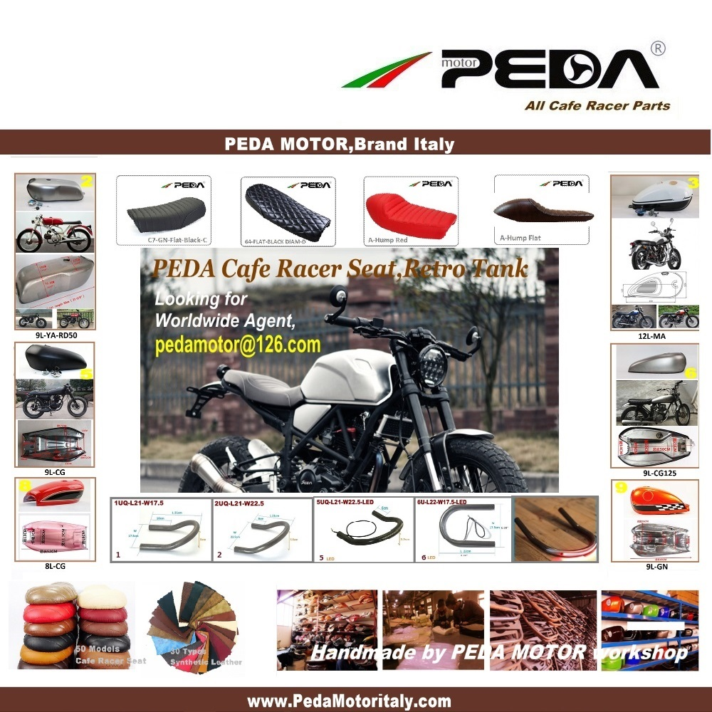 9ns Peda Cafe Racer Tank 6l Motorcycle Vintage Fuel Can Retro Mao Squishy Cute Rabbit Petrol For Honda Jh70 Suzuki C Jh Cg Gn