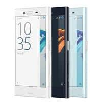 """Oryginalny nowy telefon komórkowy Sony Xperia X Compact F5321 4G LTE 4.6 """"3 GB RAM 32GB ROM 2700mAh Android linii papilarnych pojedynczy telefon SIM"""