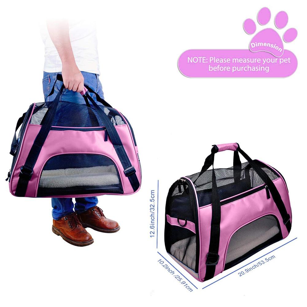 Travel Small Dog Backpack Carrier Handbag 11