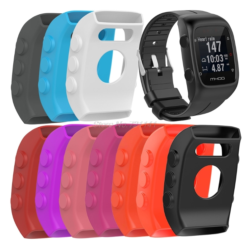 Sports Smart Watch Silicone Protective Case Cover Skin For POLAR M400 M430 Watch Electronics Stocks