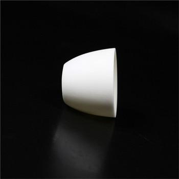 99.3% alumina crucible / 500ml / Arc-Shaped / corundum crucible / Al2O3 ceramic crucible / Sintered crucible фото