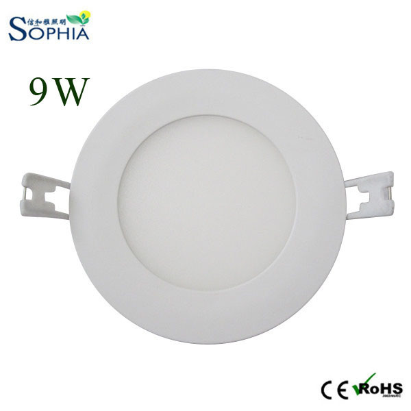 hot sale online 17a65 abea0 US $126.5 |9W 6pcs/lot 4 inch LED circular panel, LED slim panel, LED slim  downlight, LED recessed downlight, with 3 years warranty in 9W 6pcs/lot 4  ...